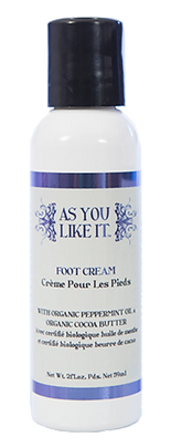 As You Like It Foot Cream try some today!