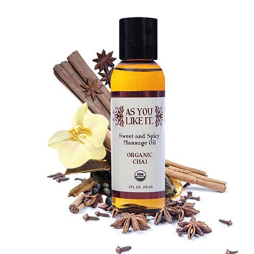 Sweet & Spicy Chai Massage Oil