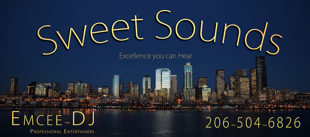 Seattle Wedding DJ, Sweet Sounds, Seattle DJ, Wedding DJ/Emcee, Ted Mase