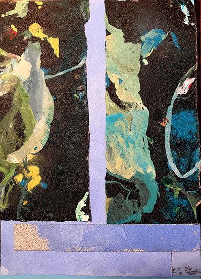 Curtains / Sandpaper Series