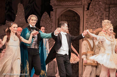Curtain call at the Royal Opera House after Tchaikovsky's 'The Nutcracker'