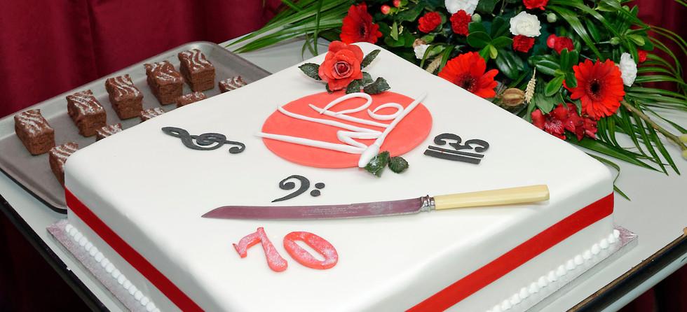 WPO 70th Anniversary Cake