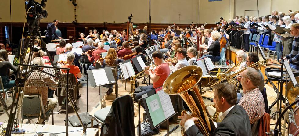 Rehearsing James Olsen's Worthing Oratorio