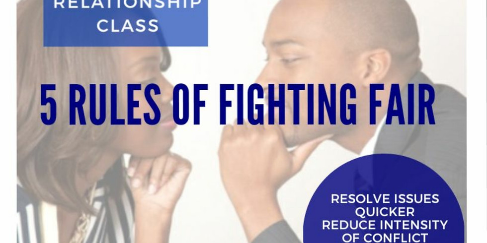 5 Rules of Fighting Fair