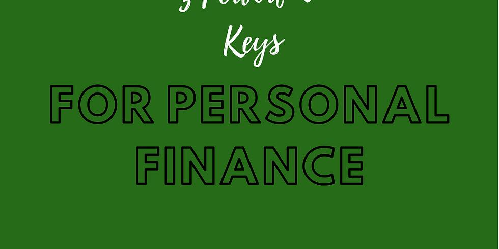 3 Powerful Keys for Personal Finance