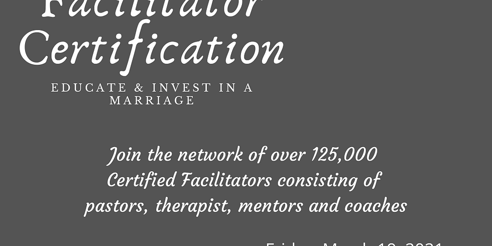 PrePare/Enrich Certification