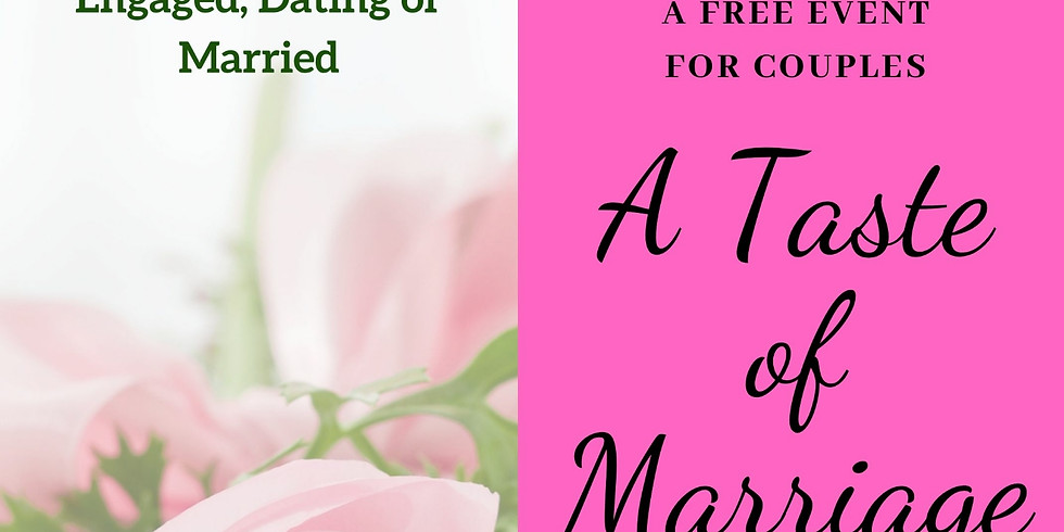 A Taste of Marriage