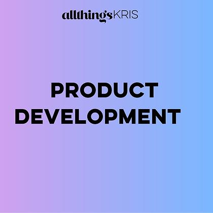 Product Development Replay