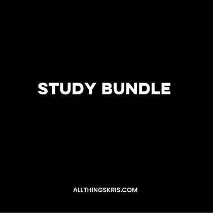 The Study Bundle
