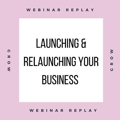Launch Webinar Replay