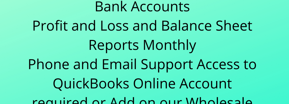 Basic Bookkeeping Package