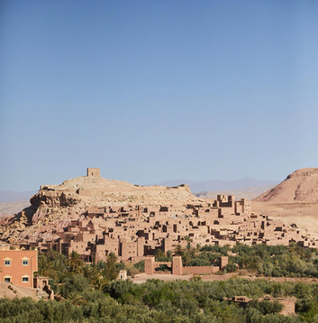 Ait Ben Haddou from a distance