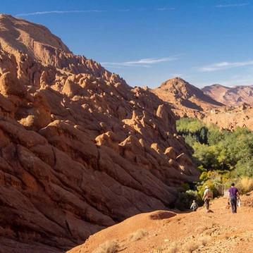 Hiking through the High Atlas Mountains