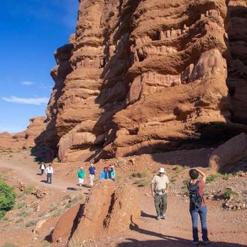 Hikes through the High Atlas mountains