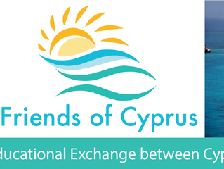 Thank You for Being a Charter Member and Loyal Supporter of Friends of Cyprus