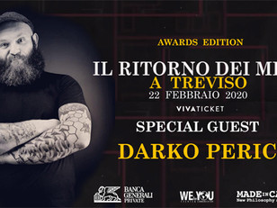 """Darko Peric de """"La casa di carta"""" ospite d'onore all'Old Star Game di Treviso"""