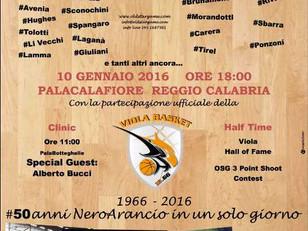 I campioni del basket a Reggio Calabria. Old Star Game a gennaio la 1^ edizione
