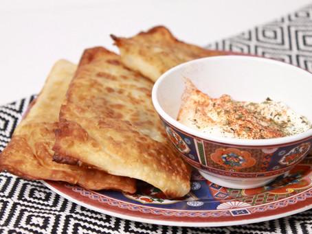 Shortcut Bolani Recipe-- Afghan vegetarian stuffed flatbread