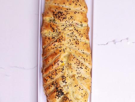 Afghan Chicken Potpie Loaf