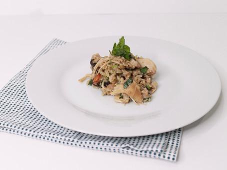 InstantPot Chipotle Recipe: Cilantro Lime Rice, Black Bean & Chicken