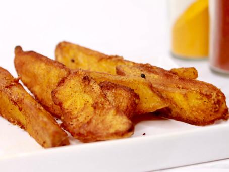 Afghan Garlic Turmeric Fusion Fries Recipe