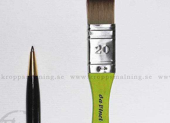 Platt Pensel Nr: 20 (Grön)