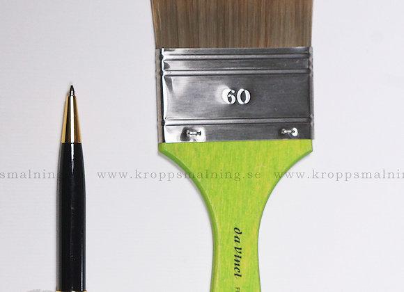 Platt Pensel Nr: 60 (Grön)