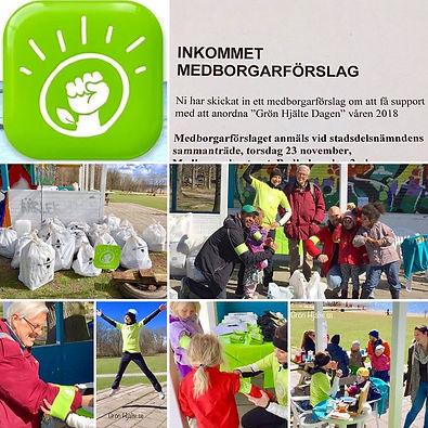 Evgenia Ansiktsmålar på GrönHjälte Dagen plocka skräp event