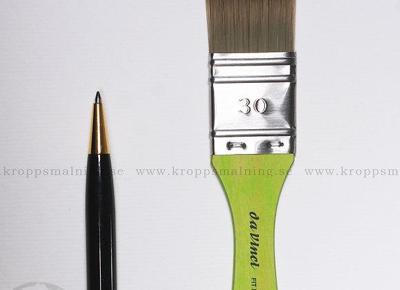 Platt Pensel Nr: 30 (Grön)