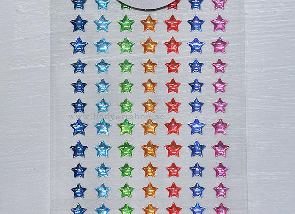 Strass Rainbow Stars