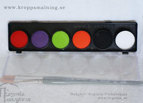 """DFX 6 palett  """"HALLOWEEN"""""""
