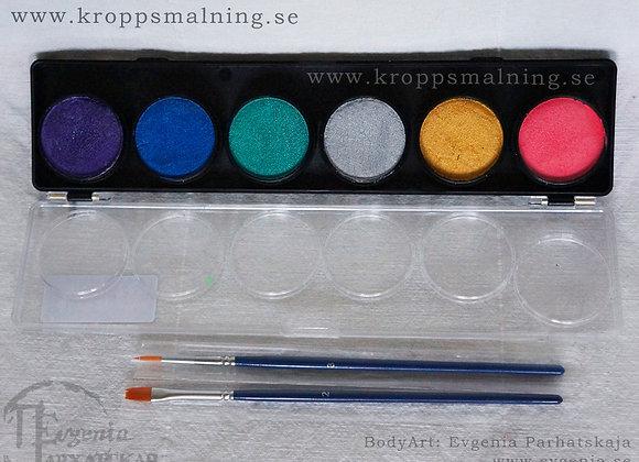 DFX 6 paletten METALLIC
