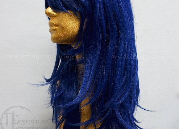 Kvalité Peruk, Mörkblå