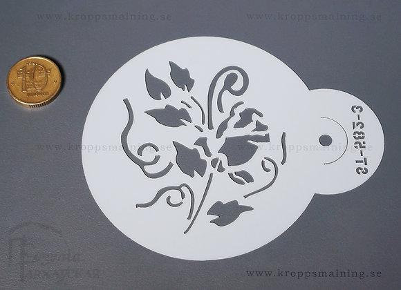 STENCIL ros (582-3)