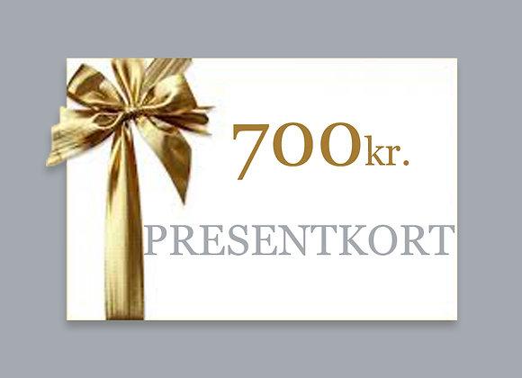 700 - PRESENTKORT
