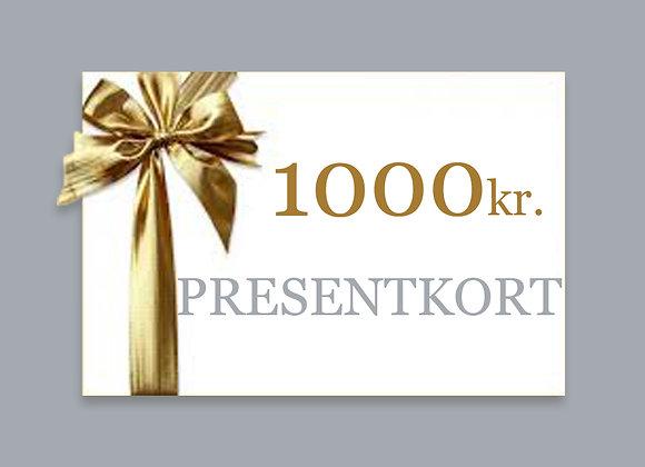 1000 - PRESENTKORT