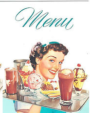 DINER-MENU-With-Waitress-for-1950s-Diner