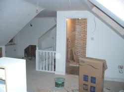 Loft internal dormer and bathroom