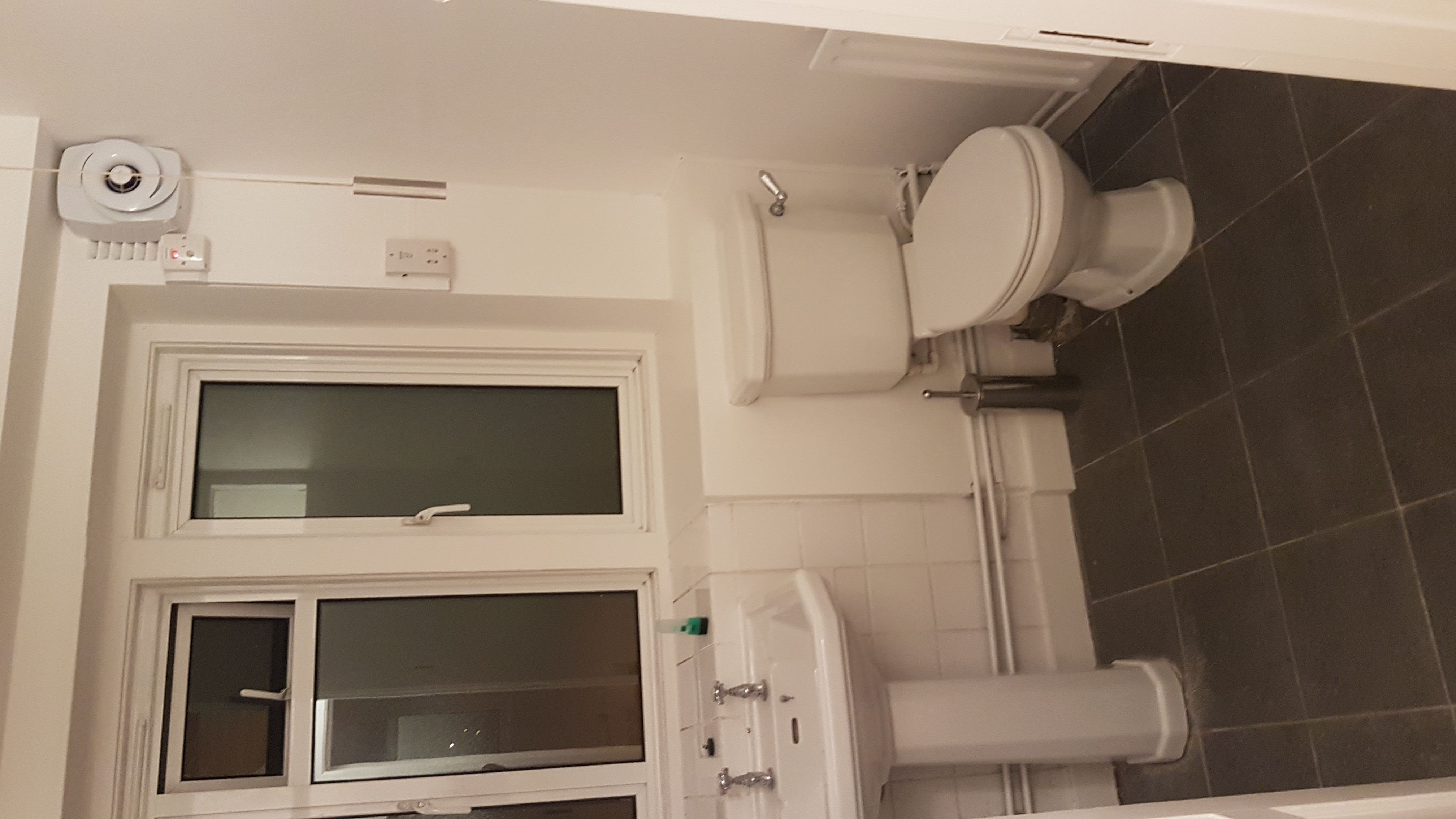 Initial bathroom