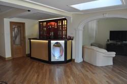 Bar under completion