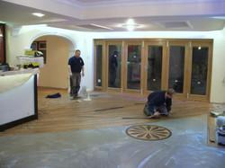 New flooring and bi-folding doors