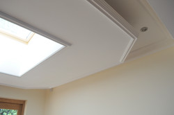 Suspended ceiling completed