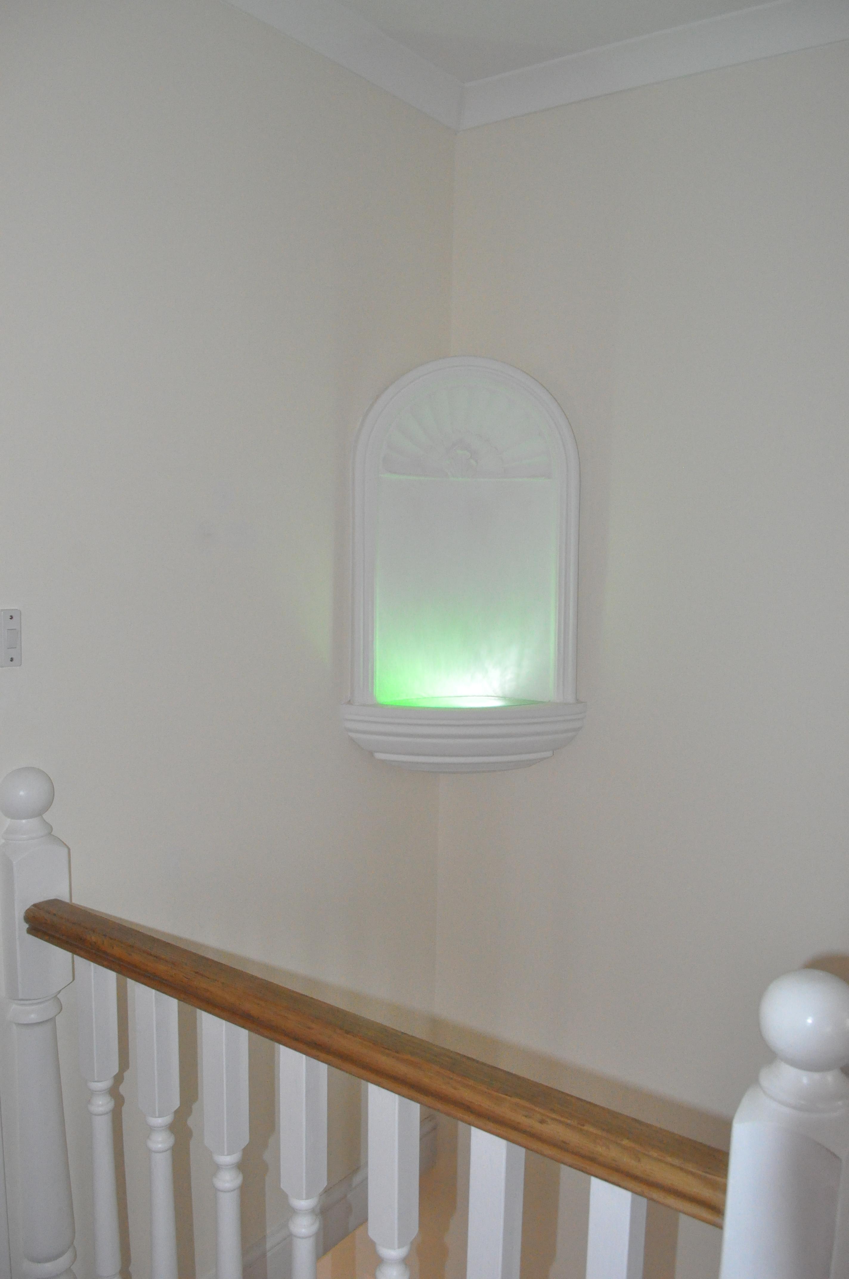 Staircase niche