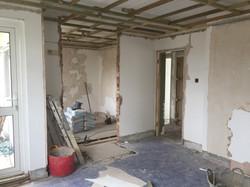 Masterbedroom and walk-in wardrobe