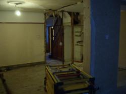 Initial livingroom/hallway