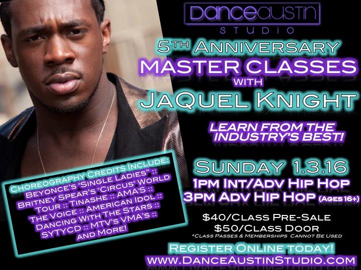 JaQuel Knight Master Class