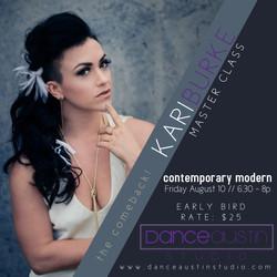 Kari Burke Contemporary Modern 8-10