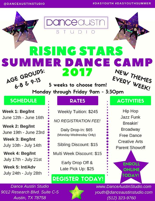 Danceaustinstudio Summer Campsintensives