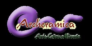 scritta archeramica con logo senza lab.p