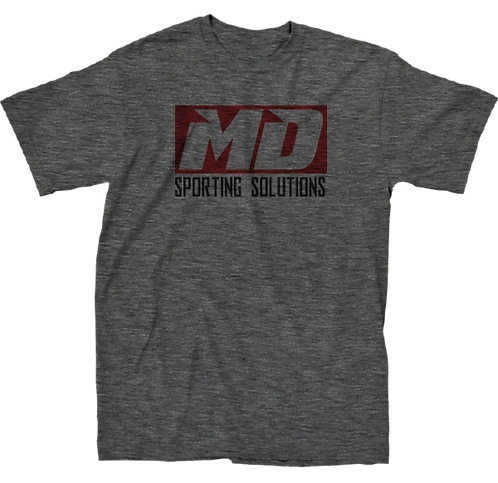 Faded Gray MD Logo T-Shirt